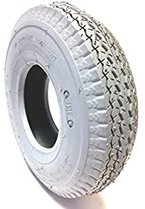 Wheelchair Mobility Scooter Tyre 2.80/2.50-4, 4Ply, grey, Street Pattern Design