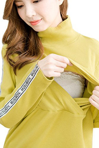 bearsland - T-Shirt à manches longues - Femme Jaune