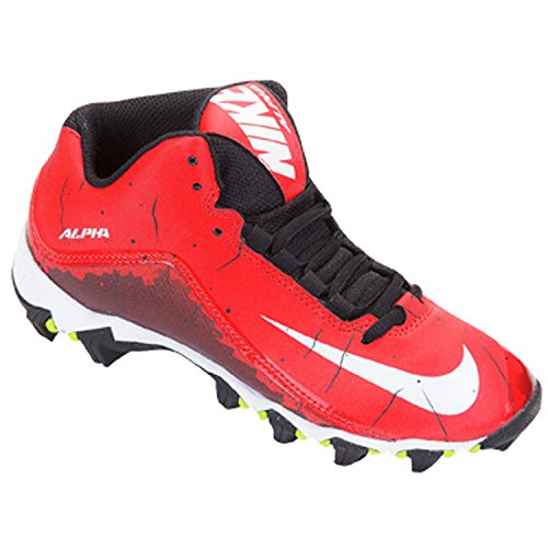 Alpha SharkthreeQuarter Football Taquet Sport Entraîneur Chaussures University Red/Black/White
