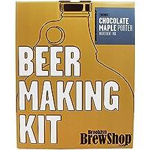 Brooklyn Brew Shop - Cerveza que hace a portero del arce del chocolate del kit