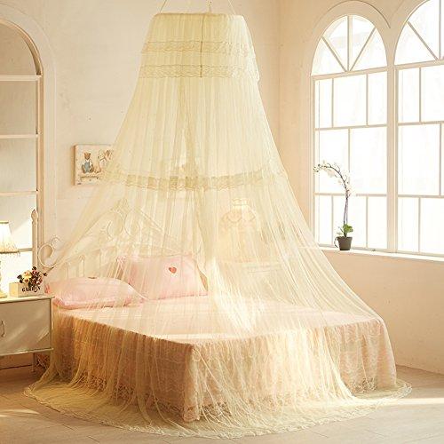 Moskitonetz Für Twin,Vollständige,Queen Size Bett,Großes Moskitonetz  Vorhänge, Überdachung Für Betten,Runde Insekten Fliegengitter,Insekten  Abweisende ...
