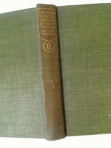 Le Morte D'Arthur. 2 Volume Complete Set.