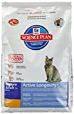 Hill's Science Plan Cat Food Mature Adult Senior 7 + Dry Mix, Chiken - 5kg