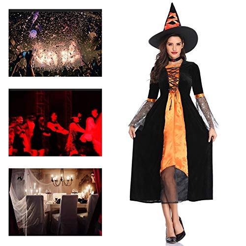 JH&MM Halloween Kostüm Damen Spinnennetz Mantel Königin Teufel Hexe Maskerade - Spinnennetz Fee Kostüm