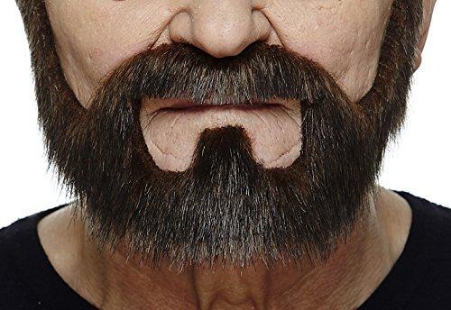 Brauner Vollr fälschen, selbstklebend (Perücke Bart Fake)