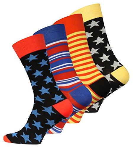 8 Paar Original Vincent Creation® Herren Trend-Socken