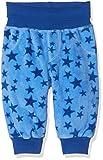 Schnizler Unisex Baby Hose Fleecehose mit Strickbund Sterne, Oeko-Tex Standard 100