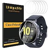UniqueMe [6 Pack] Pellicola Protettiva per Samsung Galaxy Watch Active 2 44mm Pellicola, [Film Flessibile] Soft HD Clear Anti-Scratch con Garanzia sui sostituzioni a Vita