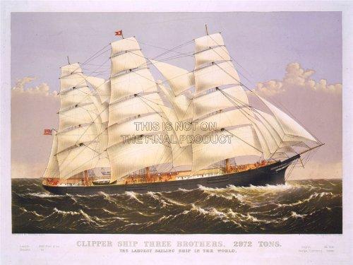paintings-transport-three-brothers-clipper-ship-sail-mast-sea-poster-18x24-plakat-drucken-lv3485