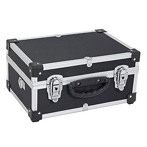 Alukoffer Werkzeugkiste Werkzeugkoffer Werkzeugbox Alu Koffer VARO + Tragegurt