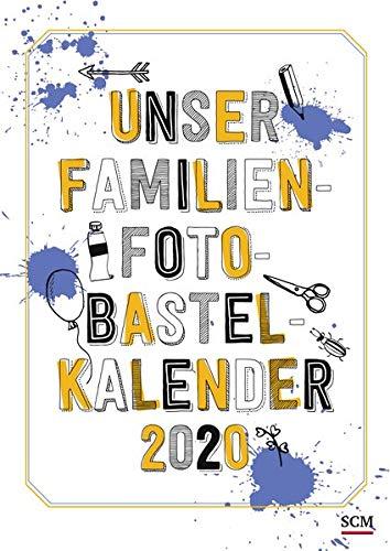 Unser Familien-Foto-Bastelkalender 2020
