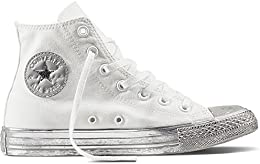 converse bianche nere