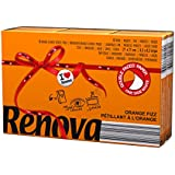 Renova mouchoirs de poche Red Label orange Aroma EFERVESCENTE – 6 paquetitos – [Pack de 20]