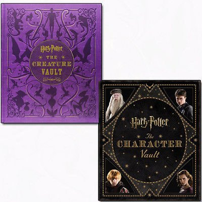 Jody Revenson Harry Potter Collection 2 Books Bundle (The Character Vault,The Creature Vault)