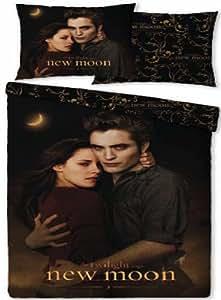 Parure housse de couette Linge de lit Twilight New Moon Edward Bella