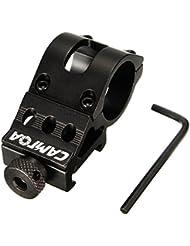 """CAMTOA 1"""" 25mm Zielfernrohr Montage mit Stopperstift für Optik 20 mm Picatinny Schiene"""