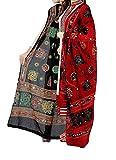 #4: KRISHNA FASHION Women's Cotton Dupattas & Stoles Multicolour_Free Size - Pack of 2 Red & Black