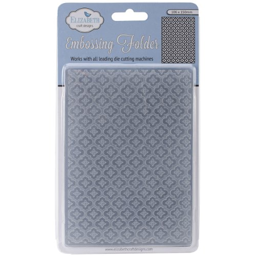 Elizabeth Craft Designs Min Mosaic-Embossing Folder
