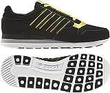 ADIDAS ZX 500 TECH RETRO SNEAKER TRAINER FREIZEITSCHUHE, G51117; Farbe: black1/sunshi/white, Gr. 42 2/3