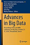 Advances in Big Data: Proceedings of the 2nd INNS Conference on Big Data, October 23-25, 2016, Thessaloniki, Greece (Advances in Intelligent Systems and Computing, Band 529)