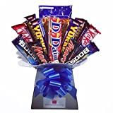 Men's Chocolate Bouquet - Sweet Hamper Tree - Perfect Gift