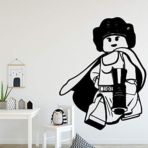 hen StilCartoon wandtattoos PVC wandbild Kunst DIYPoster für Wohnzimmer Schlafzimmer wanddekorationmu58 cm x 81 cm ()