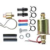 12V Universal Bomba Electrica de Combustible para Motor Coche Automovil Gasolina Diesel con Kit de Instalacion EP8012SP