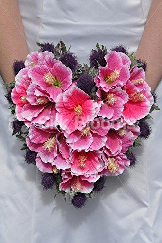 nica-rosa-seda-artificial-flores-de-hibisco-ramo-de-novia-en-forma-de-corazn-con-Purple-thistles