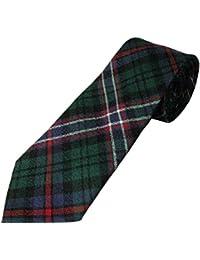 100%  laine pour homme Tartan écossais National cravate