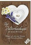 Glückwunschkarte Zur Polterhochzeit Polterabend Doppelkarte inkl.Kuvert