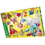 SES Creative - Set artístico para hacer broches, multicolor (01151)