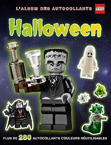 Lego Halloween : L'album des autocollants (Halloween De L Les Activites)