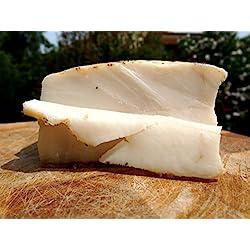 Lardo di Cinta Senese 1kg- Il Toscanicchio - 2 tranci da 0,5kg -