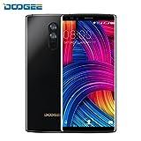 Telephone Portable Debloqué, DOOGEE X5 MAX PRO Smartphone 4G ( Écran: 5 Pouces - 16 Go - 2Go de RAM - Android 6.0 - 5.0MP + 8.0MP Double Caméra - Double SIM - 4000mAh - Empreintes Digitales) Noir