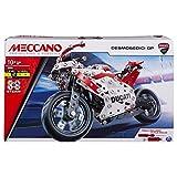 MECCANO-Ducati- Moto GP Construction, Multicolore (Bizak, S.A. 61921805)