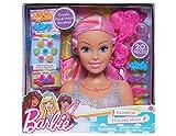 Just Play - 62625- Barbie Tête à coiffer Dreamtopia - Arc en Ciel