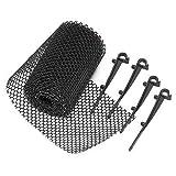 Rinnengitter, Dachrinnenschutz, Laubschutz für Dachrinnen bis RG 150