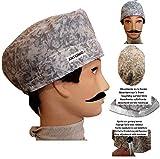 Grey Handmade Men's Hats & Caps