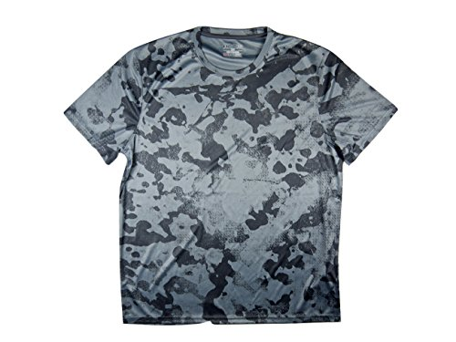 Under Armour UA TechTM Velocity stampa a maniche corte maglietta Graphite (040)
