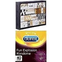 Preisvergleich für Amazon Surprise Feel more love Erotischer Adventskalender 2018 - Für Paare + Durex Fun Explosion Kondome - Verschiedene...