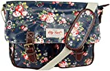 City Girl/Anna Smith Polka Dot, Daisy Flower (Floral) Satchel / Ladies Girls Spot Print Shoulder Bag / School (University) Cross Body Bag