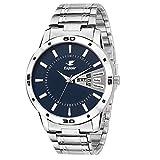 #1: Espoir Mens ESP12457 Analog Blue Dial Watch