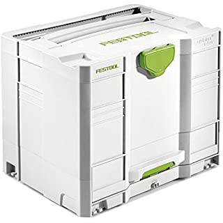 Festool SYS-Combi 3 Systainer T-Loc - White
