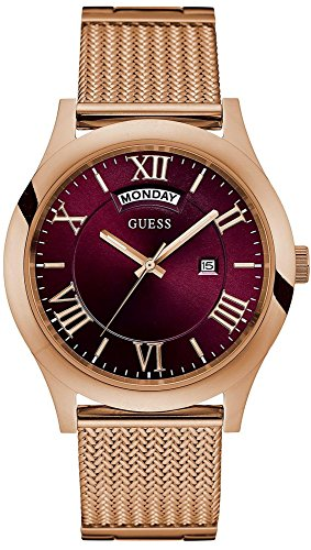 Guess Rose Gold-Tone Stainless Steel Ladies Watch W0923G3
