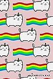 Unicorn Cat: Cute Flying Rainbow Kitten 2020 Planner Calendar Daily Weekly Monthly Organizer