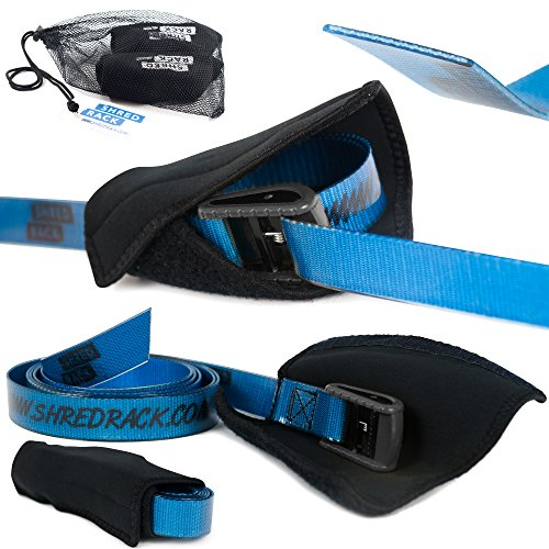 rrgurt für Sport/Crossfit Klemmschloss 2 Stück Setpreis hochwertig ShredRack (3m Länge, Blau, 250 daN) (Elite-sportz-ausrüstung)