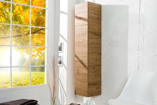 Moderner Design CUBE Eiche natur Wandregal Hängeschrank made in Italy - 2