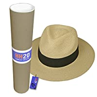 Hey Hey Twenty Fedora Hat with Travel Tube