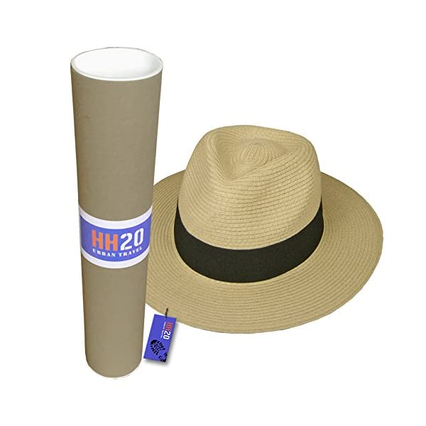 Hey Hey Twenty Fedora Hat with Travel Tube 1
