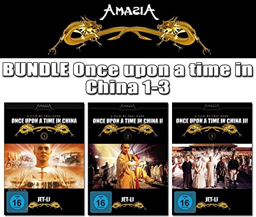 Jet Li - ONCE UPON A TIME IN CHINA 1 2 3 Trilogy DVD Collection